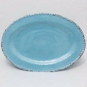 Kim Seybert Rustic Crackle MELAMINE Platter
